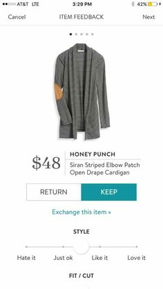 You've got to try Stitch Fix! Having a personal stylist is amazing, and I think you'll enjoy one, too. Give it a try: https://www.stitchfix.com/referral/8558717