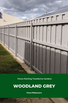 Worn-out fence spoiling your garden? We turn tired Perth fences into modern backdrops. See our fence spray paiting makeovers. Grey Fence Paint, Fence Paint Colours, Best Paint Colors, Grey Fences, Timber Fencing, Garden Makeover, Backyard Landscaping, Backyard Ideas, Exterior House Colors