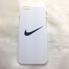 White Nike iPhone case Brand new!  Available for:                                                                     iPhone 5/5s/se iPhone 6/6s iPhone 6 Plus/6s Plus  Tags / Brandy Melville / Victoria's Secret / PINK  ☾Dream Boutique ☾ Nike Accessories Phone Cases