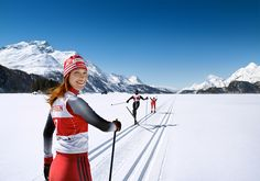 With all the trendy action sports today, who remembers the beauty of cross country skiing?! This was shot for an advertising campaign for the Swiss Raiffeisen Banking Group on the lakes of the Engadin near St. Moritz. #raiffeisen #raiffeisenbank #advertising #campaign #schweiz #switzerland #swiss #ski #piste #skiing #skirun #winter #sports #action #snow #sponsoring #campaign #training #next #fun #ride #lake #Engadin #StMoritz