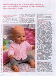 Doll hair fix Ideas Knitted Doll Patterns, Doll Sewing Patterns, Knitted Dolls, Doll Clothes Patterns, Baby Knitting Patterns, Baby Patterns, Baby Born Clothes, Girl Doll Clothes, Fix Doll Hair