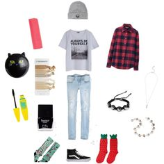 """School Outfit"" by pancake13345 on Polyvore"