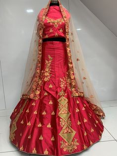 After a sad and exhausting year, look beautiful this festive season. This high quality and low cost lehenga is made from silk and enhanced with embroidary.  It can be stitched in all sizes small medium large and extra large. Minimum 28 inches to maximum 44 inches chest size. Lehenga Choli, Festive, Sad, Medium, Beautiful, Design, Design Comics, Medium-length Hairstyle