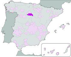 DOP Ribera del Duero - Localización