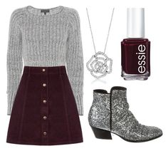 """Untitled #134"" by layna427 ❤ liked on Polyvore featuring rag & bone, Oasis, Giuseppe Zanotti, BERRICLE and Essie"