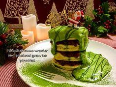 娘の手作りパンケーキ 第34弾 〜クリスマスパンケーキ〜
