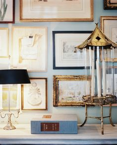neutral gallery wall // Lonny Mag