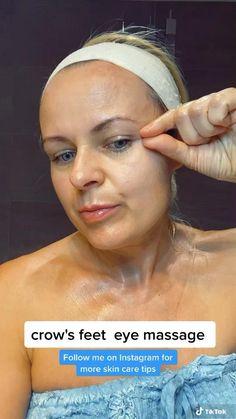 Massage Facial, Facial Yoga, Skin Tips, Skin Care Tips, Face Yoga Exercises, Face Skin Care, Face Oil, Crow, Blonde Honey
