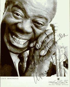 † Louis Armstrong (70)  06-07-1971  Was een Amerikaans jazztrompettist, zanger en entertainer.