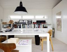 More Skandinavian interior design inspiration... the website is full of further inspiration if you like this clean style.