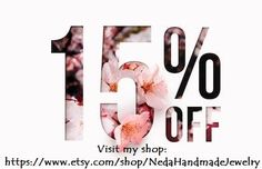 Handmade Bohemian Jewelry, Craft Supplies and Gifts by NedaHandmadeJewelry Body Shop At Home, The Body Shop, Mary Kay, New Flyer, Food Graphic Design, Shopping Quotes, Etsy Coupon, Promotional Design, Floral Logo