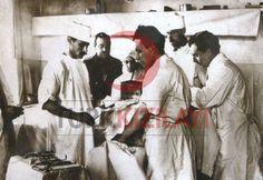 1914-1918 1.Dünya Savaşı Hilal-i Ahmer Asker Hastanesinde Ameliyat