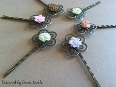 DIY Vintage Style Filigree Rings and Hair Pins by DesignedbyDawnNicole, via Flickr