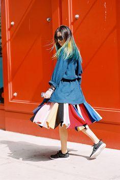 New York Fashion Week SS 2015....Irene