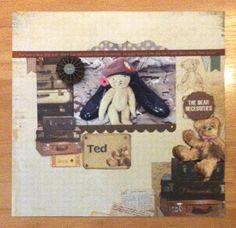 Kaisercraft gorgeous Teddy Bear's Picnic collection