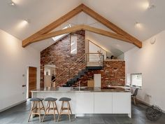 This stunning green oak extension is winner of 'Best Oak Frame' at the Build It Awards 2014! Frame by Carpenter Oak Ltd