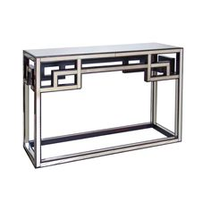 FRETWORK ANTIQUEIQUE MIRROR CONSOLE FROM WORLDS AWAY. FREE SHIPPING.