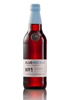 Blue Nectar No. 1 via Dieline