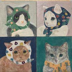 Chef D Oeuvre, Oeuvre D'art, Arte Indie, Pics Art, Pretty Art, Aesthetic Art, Cat Art, Collage Art, Art Inspo