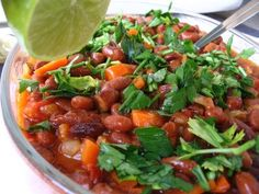 Almost Turkish Recipes: Barbunya Beans (Barbunya Pilaki), try with roman beans can add a potato for authenticity per comments