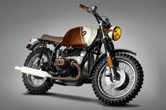 BMW R45 Custom by Ton Up Garage