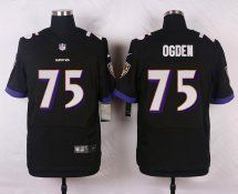 #75 Jonathan Ogden Baltimore Ravens Elite Jersey