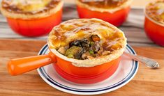 Mixed Mushroom Pot Pie - Vegetarian (and you could also just make the filling as a stew :D)