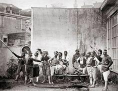 Bir tulumbacı grubu...1870'ler(9) Twitter