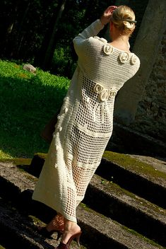 Ravelry: #03 Long Roses Coat pattern by Nicky Epstein