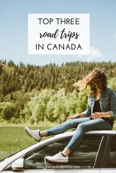 In Canada, with so much natural beauty all around us, I'm convinced that hitting the highway is one of the best ways to see everything our country's natural world has to offer. With that in mind, here are my top three Canadian Road Trips.