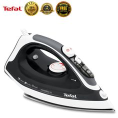 Tefal FV3775 Garment Steamer Fabric Powerful Steam Iron Clothes Laundry New #Tefal