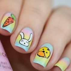 Osternägel / Oster Nageldesign / Easter Nails