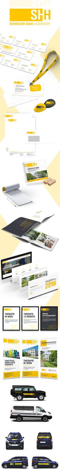 Schweizer Haus Hadersdorf - Corporate Design - designed by Designerpart - www.designerpart.com Web Design, Logo Design, Grafik Design, Corporate Design, Designer, It Works, Getting To Know, Swiss Guard, House