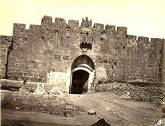 Lion's Gate, Jerusalem c.1870