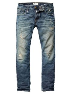 Ralston - Slim - Downer - denim blue - 38/34