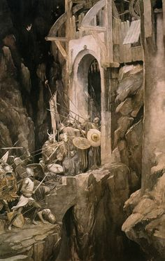 """illustratedbook: Illustrated by Alan Lee - from the book """"The Mabinogion""""[1] [3] [x]"""