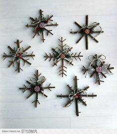 twigs Christmas decoration :-)