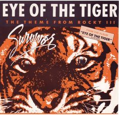 Vintage Survivor Eye Of The Tiger Vinyl LP by sweetleafvinyl. I had this on cassette back in the day.Listened to it so many times i wore it out. Silver Girl was my favourite song. 80s Album Covers, Rocky Series, Vinyl Sales, Rock Videos, Millionaire Mentor, Rocky Balboa, Perfect Date, Movie Poster Art, Wedding Music