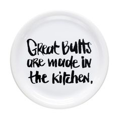 great-butts Decorative Plates, Tableware, Kitchen, How To Make, Cuisine, Dinnerware, Dishes, Home Kitchens, Kitchens