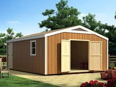 STORAGE BUILDING PLANS My Shed Plans How to Construct Wood