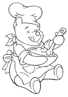 Winnie The Pooh Coloring Pages For Kids — Mister Coloring Cute Coloring Pages, Cartoon Coloring Pages, Disney Coloring Pages, Coloring Pages For Kids, Coloring Books, Winnie The Pooh Drawing, The Art Sherpa, Disney Colors, Pooh Bear