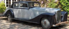 1935 Saloon by Mayfair Carriage Co. Ltd. and re-styled by Corsica (chassis B68EF) fitted with a 4.25-litre engine in 1937 for H.L. Good