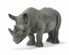 Schleich African Black Rhinoceros at theBIGzoo.com, a family-owned toy store.