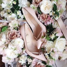 Elegant, simple Christian Louboutin heels for women fashion style. high heels,heels for women 2015 Louboutin Paradise Stilettos, High Heels, Bridal Shoes, Wedding Shoes, Wedding Reception, Pink Pumps, Louboutin Pumps, Blush Heels, Pumps