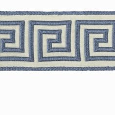 Robert Allen GREEK KEY BRAID CALYPSO BLUE Trim