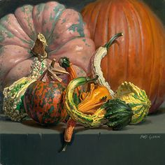 """Warts and All by Beth de  Loiselle Oil ~ 19"""" x 19"""""""