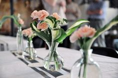 carnation centerpieces