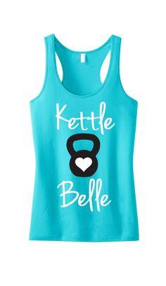 935e783067405 Kettle Belle Workout Tank Top