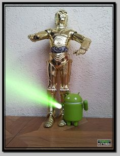 Android versus android?? #bugdroid #android