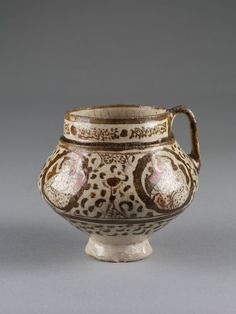 Tankard Place of origin: Iran (made) Date: 1180-1220 (made) Artist/Maker: Unknown (production) Ma...